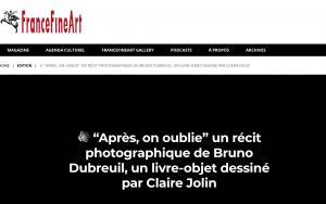 """""""Après, on oublie"""", interview d'Anne Frédérique Fer"""